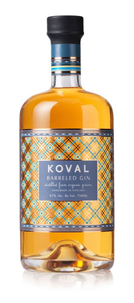 KOVAL bottle – Barreled Gin-2