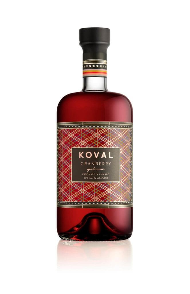 KOVAL bottle – Cranberry Gin Liqueur-2